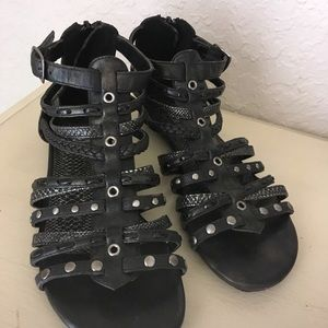 DECREE Snakeskin Sandals from BUCKLE Store